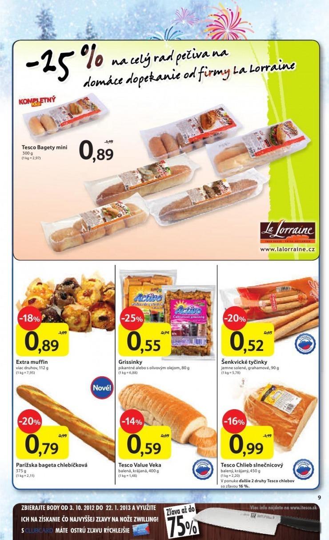 2cd5a42c4 Leták Tesco - výpredaj odevov, 26. 12. - 8. 1. 2013