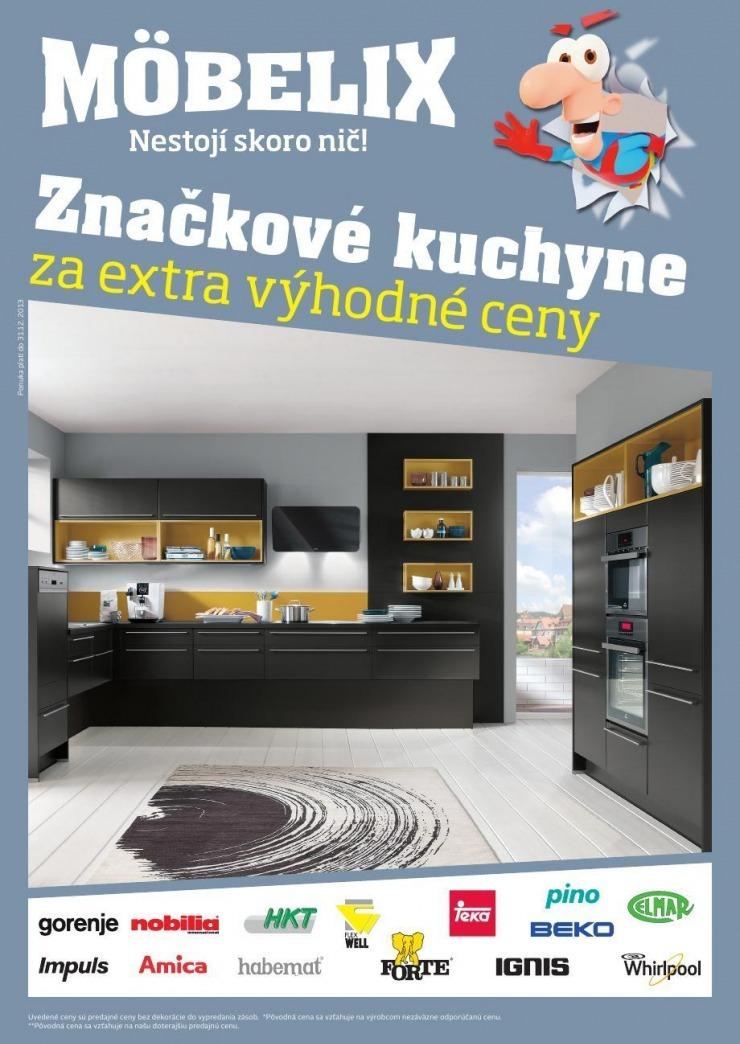 Leták katalóg Möbelix - značkové kuchyne 22b84160462